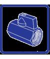 Краны шаровые для бытовой техники ProFactor Chrome
