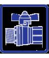 Краны шаровые газовые ProFactor