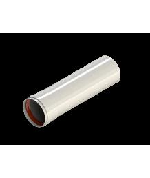 Труба алюмюминиевая окрашенная белым D80, длина 0,5 м