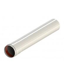 Труба алюмюминиевая окрашенная белым D80, длина 2 м