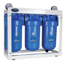 Трехступенчатая система фильтров Aquafilter HHBB10 с манометром