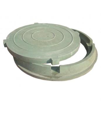 Люк полимерно-песчаный композитный 15 т, тип Т
