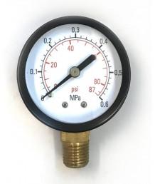 Манометр 50/10 атм радиальный G1/4