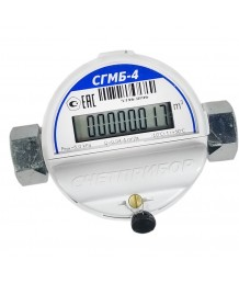 Счетчик газа Счетприбор СГМБ-4