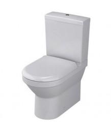 Унитаз VITRA S50 65,5cm,безободковый,сиденье микролифт,9797B003-7204