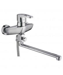Смеситель LEDEME  для ванны длин.нос(2157) (82190)