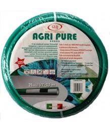 """Шланг садовый AGRI PURE сверхусиленный армированный 5-ти слойный 15м 1/2"""" Р=12 Bar"""