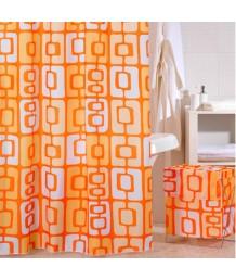 Штора IDDIS д/ван. комнаты Orange Toffee 200х240