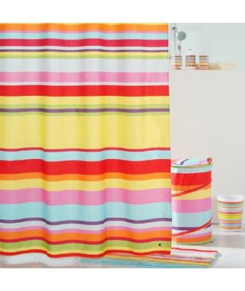 Штора IDDIS д/ван. комнаты Summer Stripes 200х240