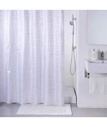 Штора IDDIS д/ван. комнаты Silver Gauze 200х200