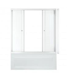 Штора 2 двери Эко 1500, Фабрик, Белый