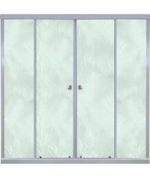 Штора 2 двери Риф 1500, Грейс, Белый